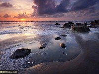 海景风光摄影技巧