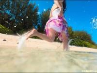 沙滩美女外拍实用摄影技巧