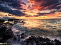 拍摄动人沙滩海景的风光摄影技巧