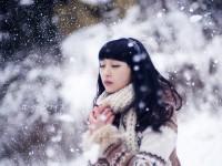 简单5招教你拍摄雪景人像