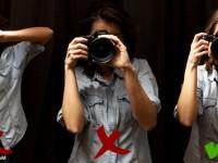 如何正确手持相机拍出清晰照片