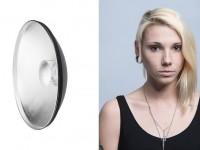 使用不同的灯罩打灯的效果对比