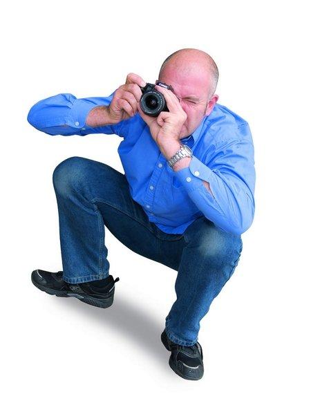怎样才是正确的摄影拍摄姿势