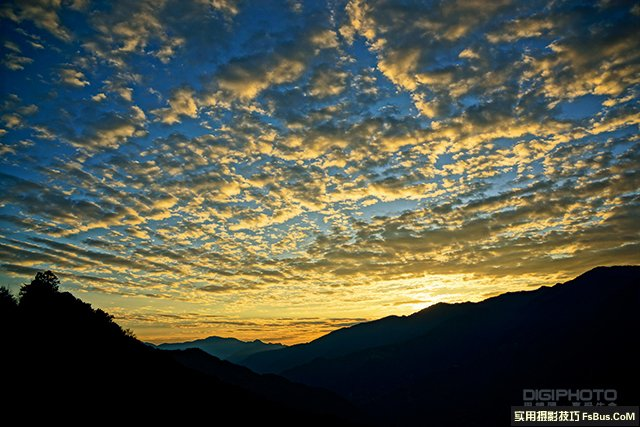 7招拍出神奇云彩魅力