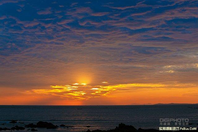 如何捕捉日出日落天空的美丽色彩