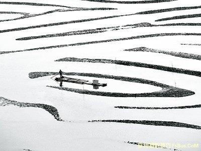 3种不同基调打造黑白风景照
