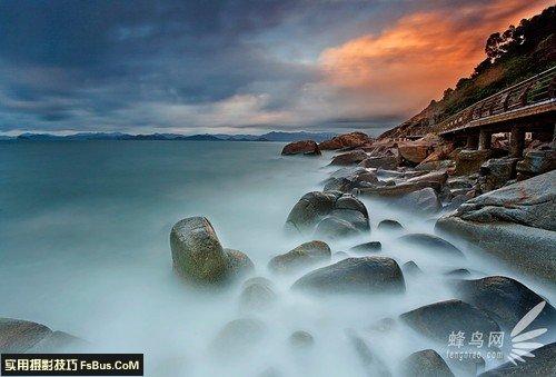 如何用慢门技术拍出美丽的海景