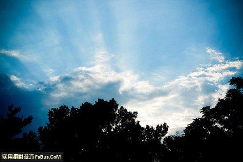 教你如何拍出漂亮的云朵