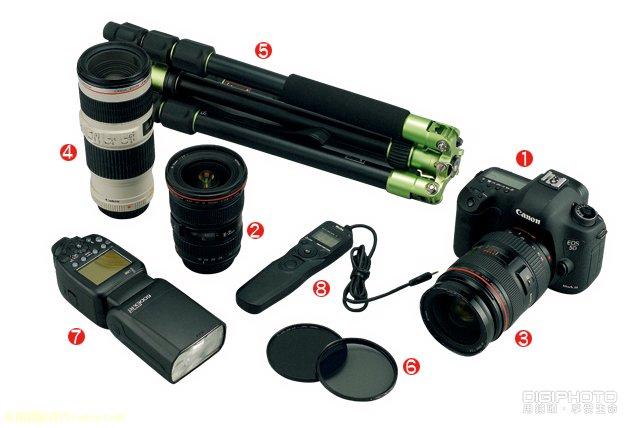 枫叶拍摄器材准备与光线运用