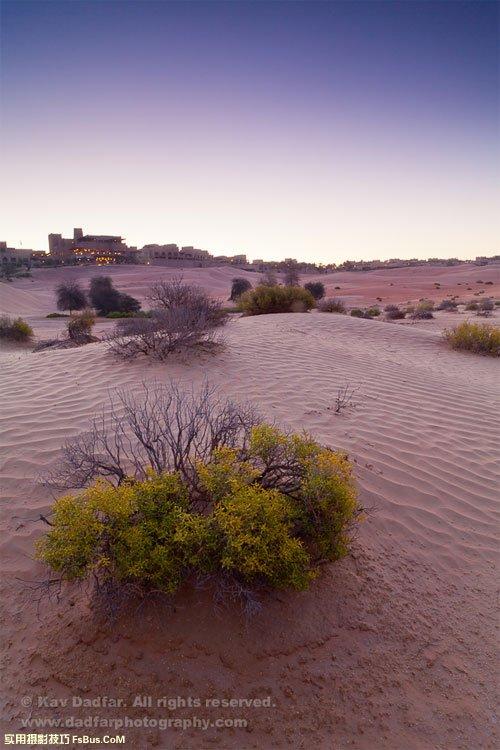 拍摄沙漠风光的6个小技巧