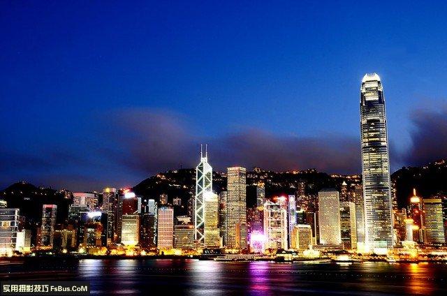 城市夜景的拍摄心得