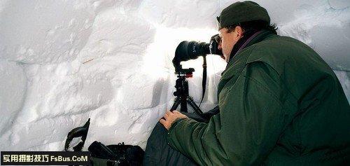 教你如何在雪天拍风光