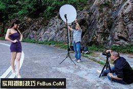 教你驾驭闪光灯多角度单灯拍摄技巧