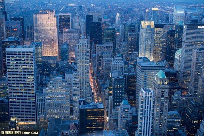 教你如何拍摄都市风景