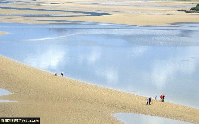 海边沙滩户外拍摄技巧