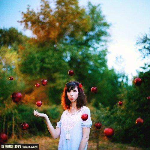 向国外摄影师学创意自拍