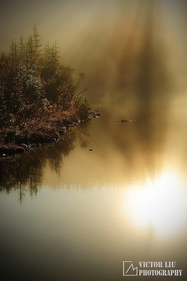 雾天风光摄影的构图与对焦