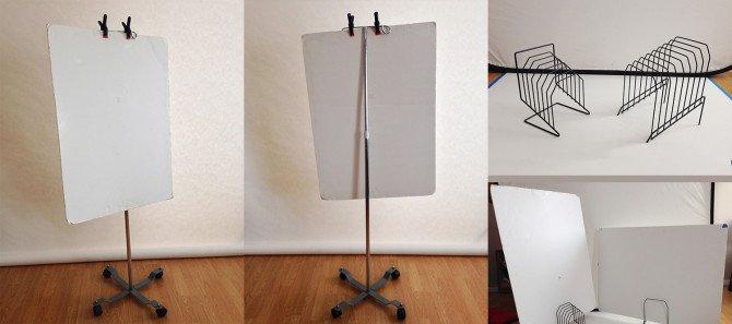 家中可以替代反光板的N种道具