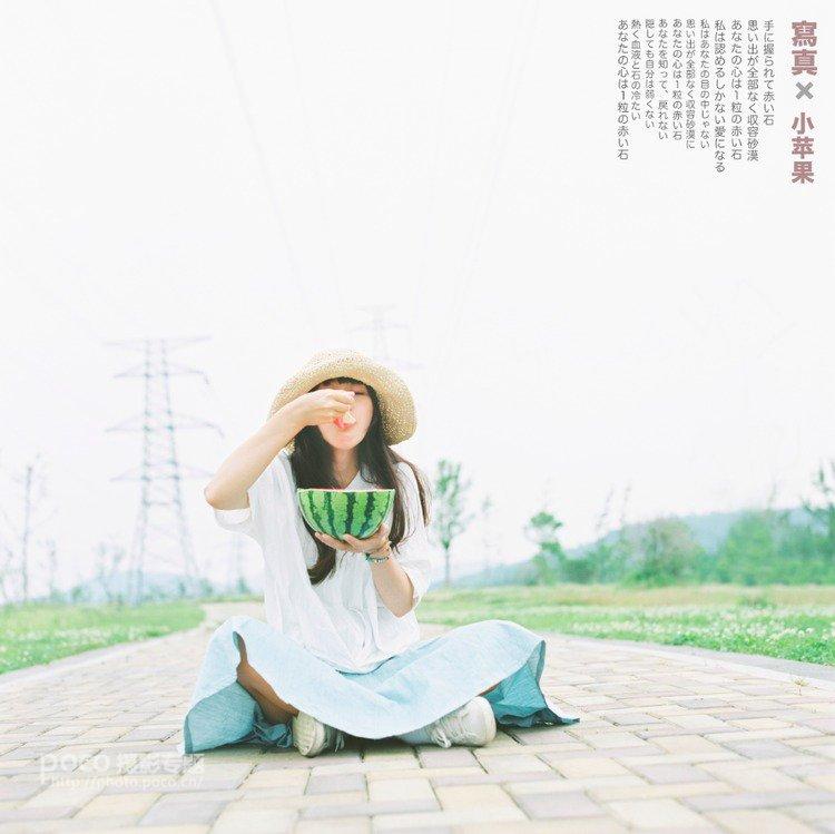 如何拍出清新淡雅日系文艺人像