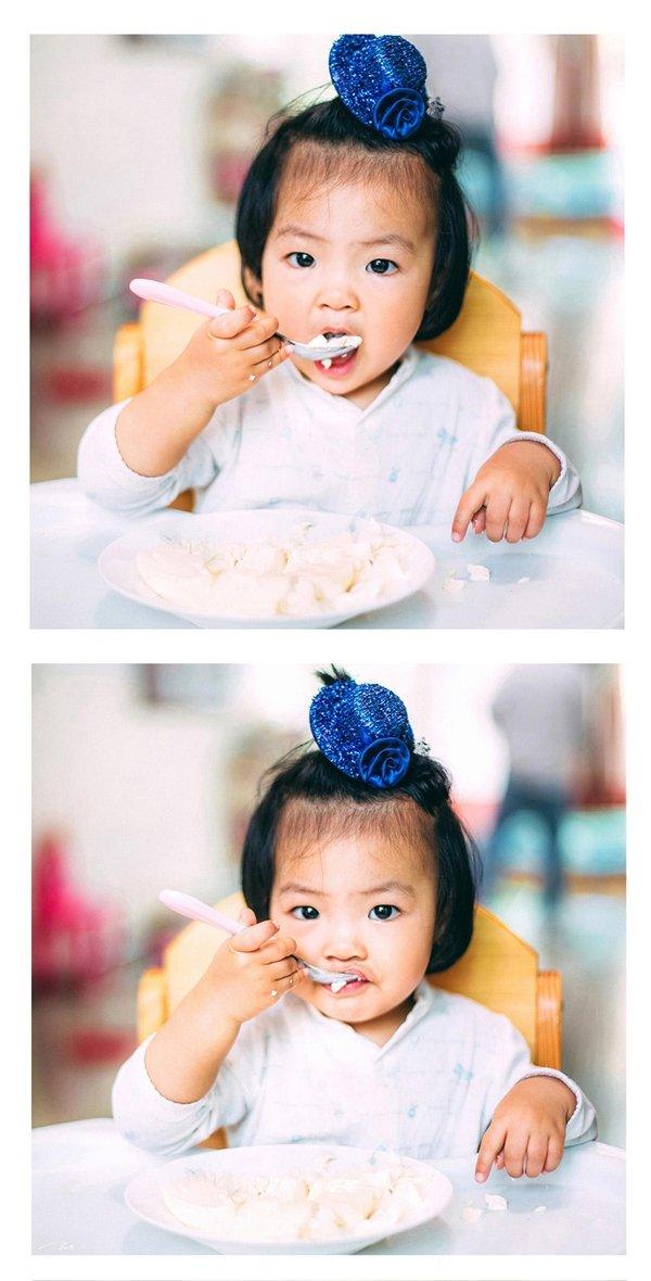 儿童摄影后期胶片色调分享