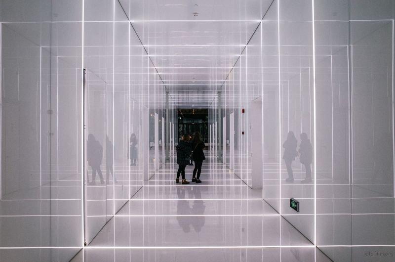 摄影构图之几何与对称之美