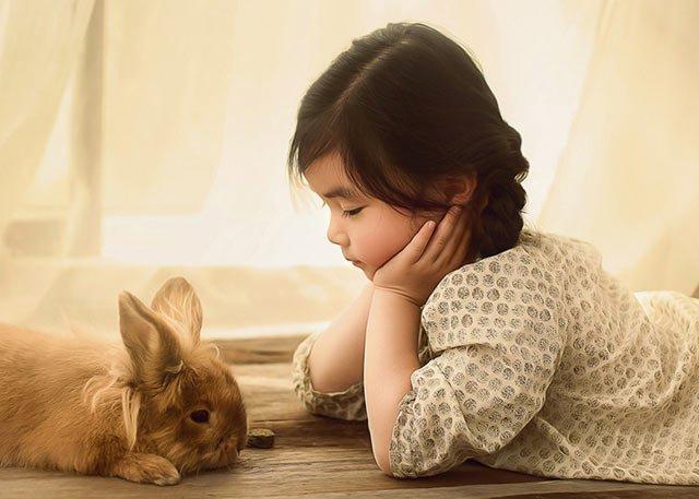 简单置景的室内儿童摄影技巧